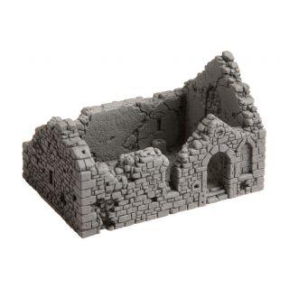 Ruina kaplnky 10,5 x 6,7 cm x 6,7 cm NO58611