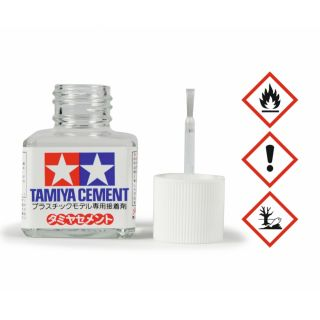 Lepidlo Tamiya Cement so štetcom 40 ml