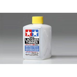 Tamiya riedidlo Lacquer thinner 250 ml