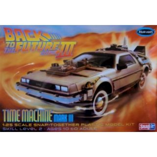 Polar Lights Back to the Future III Time Machine 1:25