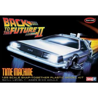 Polar Lights Back to the Future II Time Machine 1:25