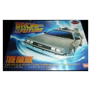 Polar Lights Back to the Future Time Machine 1:25