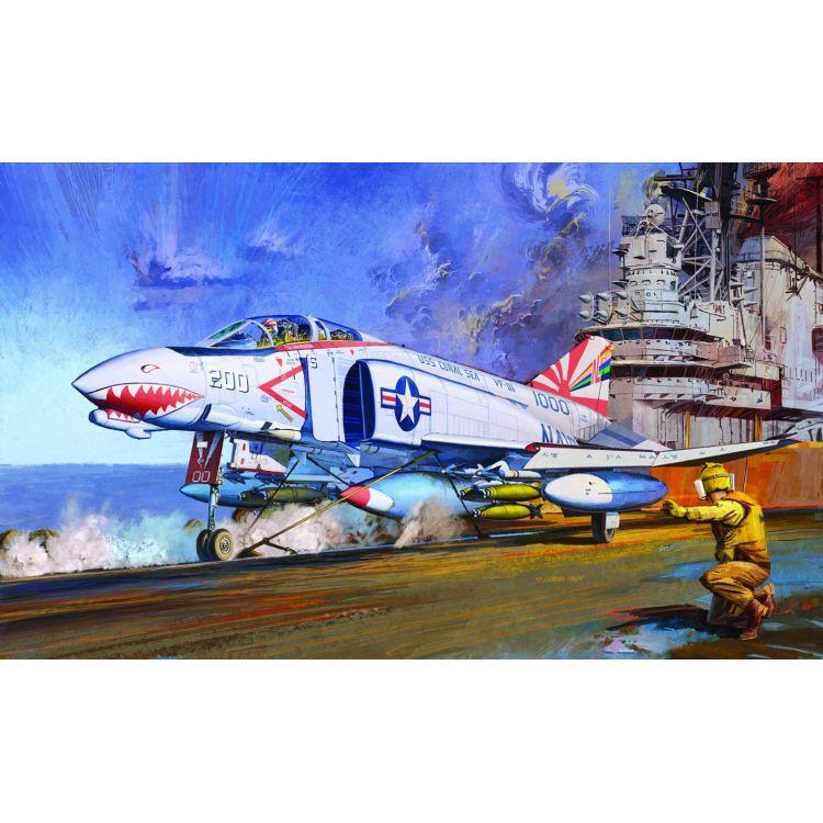 "Model Kit letadlo 12232 - F-4B ""VF-111 SUNDOWNERS"" MCP (1:48)"