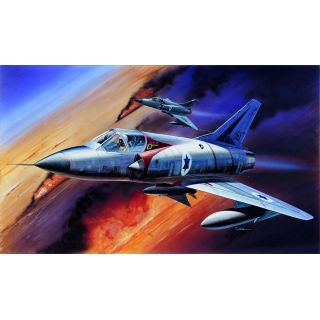 Model Kit letadlo 12247 - MIRAGE III-C FIGHTER (1:48)