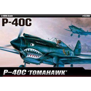 Model Kit letadlo 12280 - P-40C (1:48)