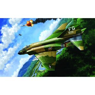 "Model Kit letadlo 12294 - USAF F-4C ""VIETNAMESE WAR"" (1:48)"