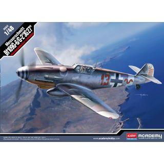 """Model Kit letadlo 12321 - Messerschmitt Bf109G-6/G-2 """"JG 27"""" (1:48)"""