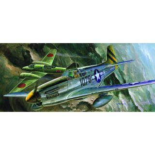 Model Kit letadlo 12441 - P-51C (1:72)