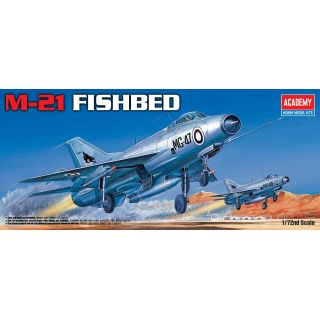 Model Kit letadlo 12442 - M-21 FISHBED (1:72)