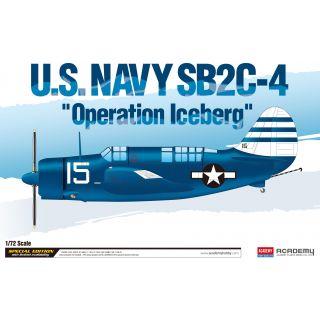 "Model Kit letadlo 12545 - U.S.Navy SB2C-4 ""Operation Iceberg"" LE: (1:72)"