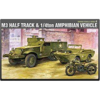 Model Kit military 13408 - M3 U.S HALF TRACK (1:72)