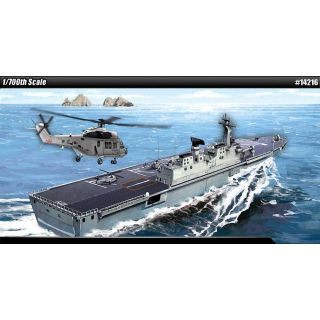 Model Kit loď 14216 - ROK NAVY DOKDO (LPH 6111) MCP (1:700)