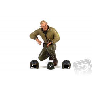 1/16 klečící figurka seržanta B.Greena Keeling