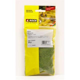 Statická tráva, svetlá zelená, 4 mm, 20 g  NO08363
