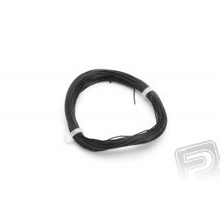 Kabel PVC 0.055mm2 10m (černý)