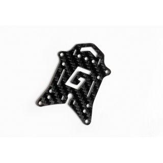 Vrchní uhlíková deska s Graupner G logem