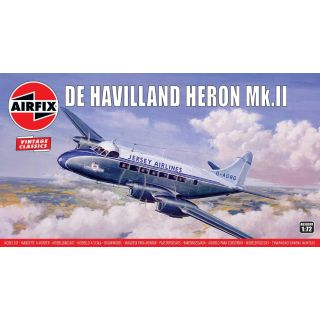Classic Kit VINTAGE letadlo A03001V - de Havilland Heron MkII (1:72)