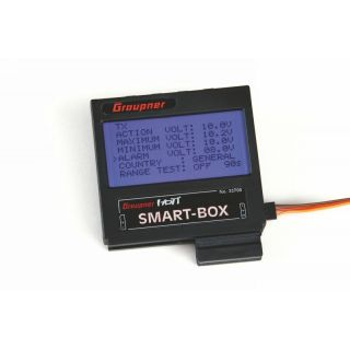 Hott Smart box - LCD telemetrie Hott systému