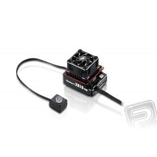XERUN XR10 PRO G2 160A - červený - regulátor
