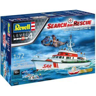 Gift-Set SAR 05683 - DGzRS Arkona + Westland Sea King Mk 41 (1:72)