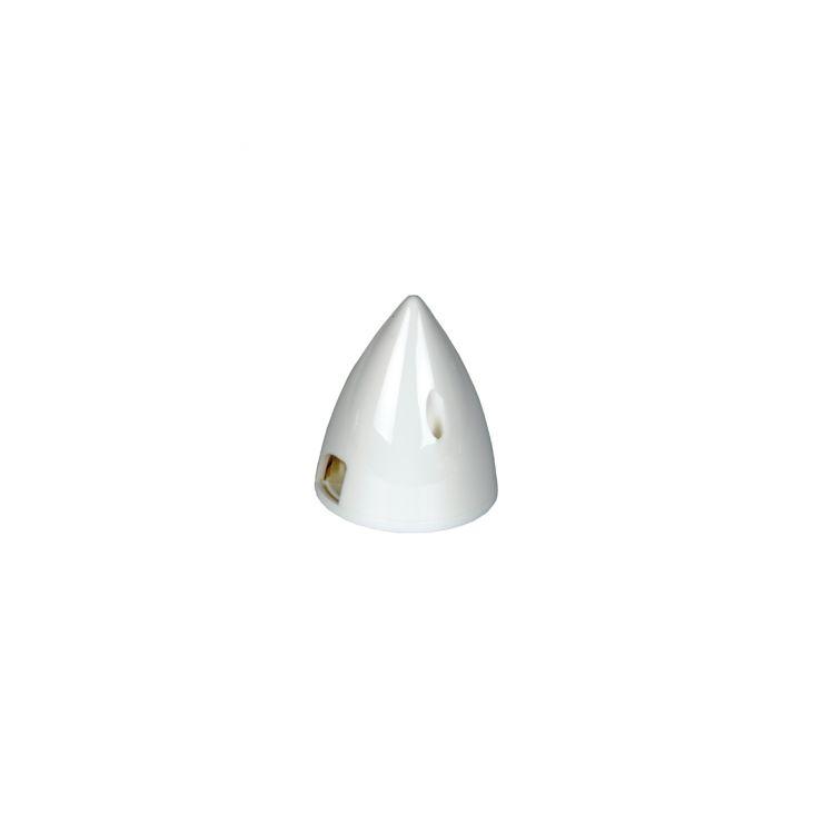 Bílý plastový kužel - 64 mm