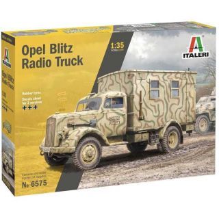 Model Kit military 6575 - Opel Blitz Radio Truck (1:35)
