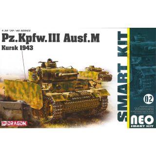 Model Kit tank 6521 - Pz.Kpfw.III Ausf.M Kursk 1943 (Neo Smart Kit) (1:35)