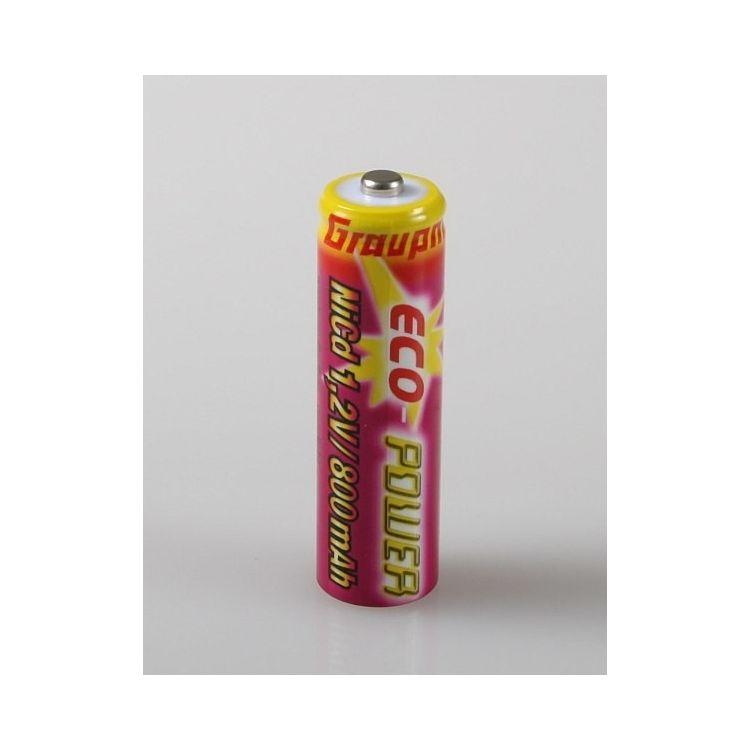 GRAUPNER - Mignon AA článek ECO-Power 1,2V/800mAh, cena za kus !!!