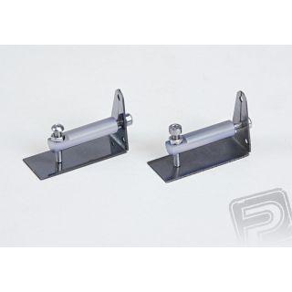 Ocelové vyrovnávací a nastavitelné klapky 41mm délka