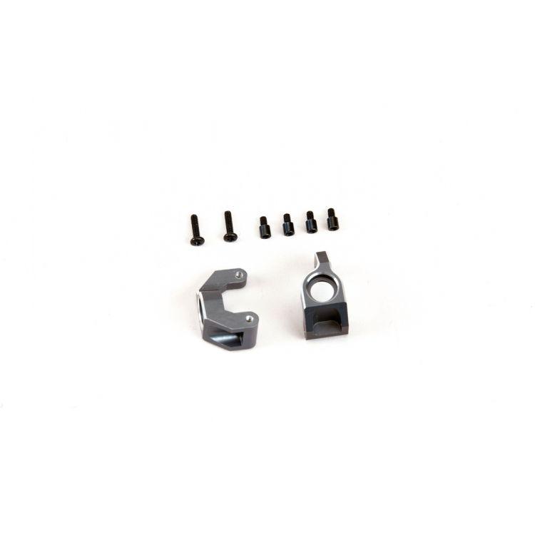 Zadní hliníkové náboje kol (pár)
