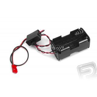 Futaba pouzdro baterií SSW-BSSA (s vypínačem)