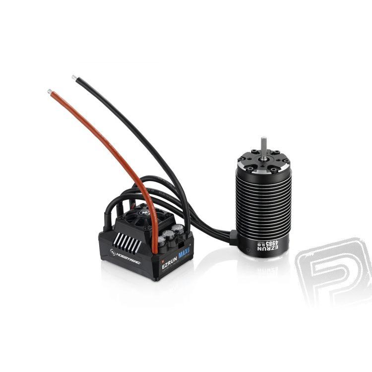 COMBO MAX6 s EZRUN 4985 1650Kv - černý