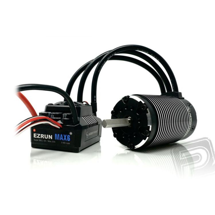 COMBO MAX6 s EZRUN 5687 1100Kv - černý