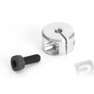 Hliníkový stahovací kroužek 2,0 x 10mm, 2 ks. - NEW
