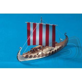 Mini Oseberg vikinská loď 1:50
