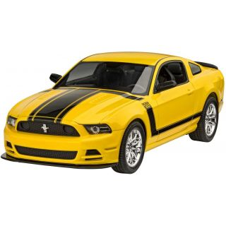 Plastic ModelKit auto 07652 - 2013 Ford Mustang Boss 302 (1:25)
