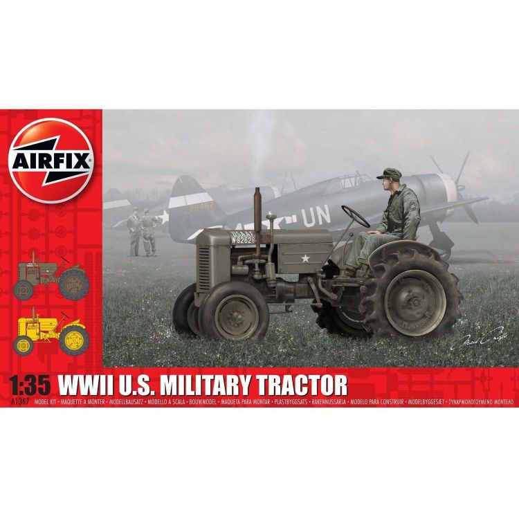 Classic Kit military A1367 - WWII U.S. Military Tractor  (1:35)