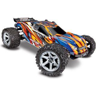Traxxas Rustler 1:10 VXL 4WD TQi RTR oranžový