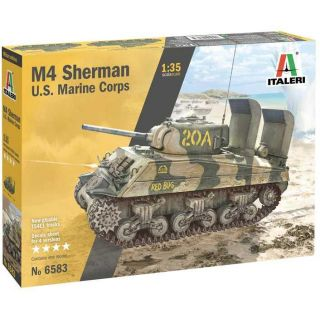 Model Kit military 6583 - M4 SHERMAN U.S. MARINE CORPS (1:35)