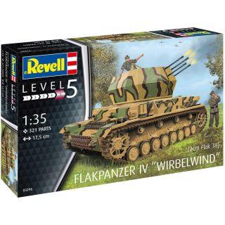 Plastic ModelKit military 03296 - Flakpanzer IV Wirbelwind (1:35)