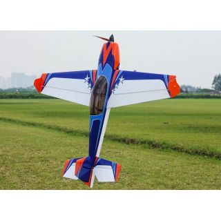 """48"""" Extra 300 EXP V2 - Modrá/Oranžová/Bílá 1,21m"""