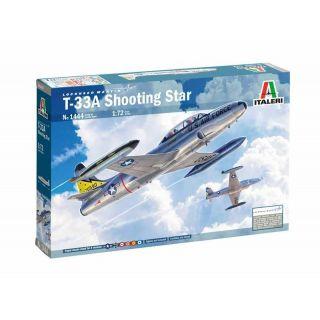 Model Kit letadlo 1444 - T-33A Shooting Star (1:72)