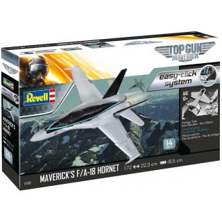 "EasyClick ModelSet letadlo 64965 - Maverick's F/A-18 Hornet ""Top Gun"" (1:72)"