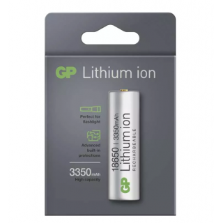 Nabíjacia batéria GP Lithium-ion 18650 3350mAh PCM