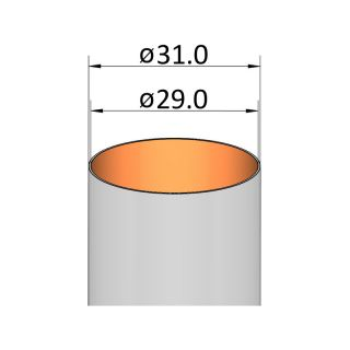 Klima Papírová trubka 29mm / 95mm
