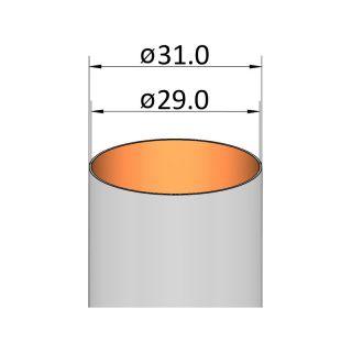 Klima Papírová trubka 29mm / 150mm