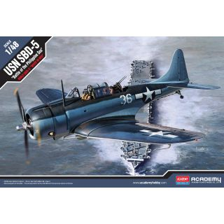 "Model Kit letadlo 12329 - USN SBD-5 ""Battle of the Philippine Sea"" (1:48)"