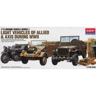 Model Kit military 13416 - GROUND VEHICLE SERIES-1 (1:72)