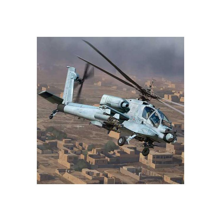 "Model Kit vrtulník 12129 - AH-64A ANG ""South Carolina"" (1:35)"