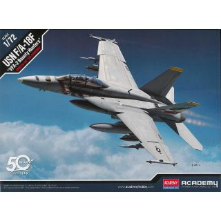 "Model Kit letadlo 12567 - USN F/A-18F ""VFA-2 Bounty Hunters"" (1:72)"